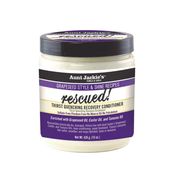 Aunt Jackie's Rescued Thrist Quenching Recovery Conditioner 15 oz