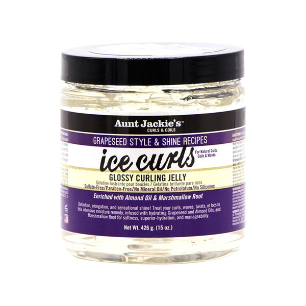 Aunt Jackies Ice Curls Glossy Curling Jelly 15 oz - AQ Online
