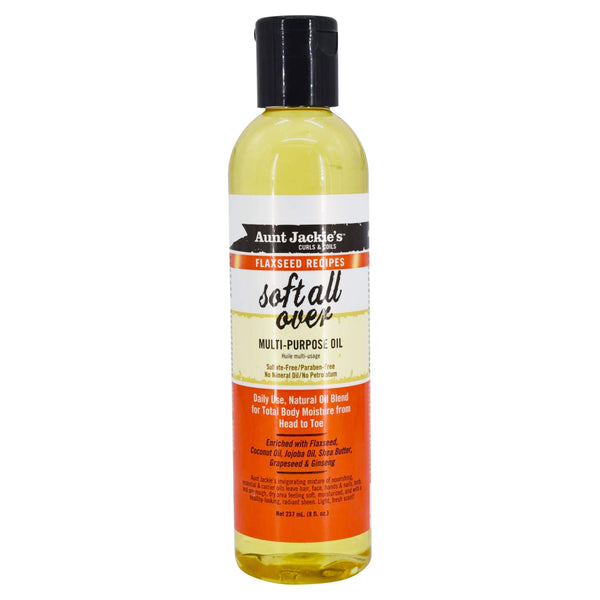 Aunt Jackies Soft All Over Multi Purpose Oil 8 oz- AQ Online