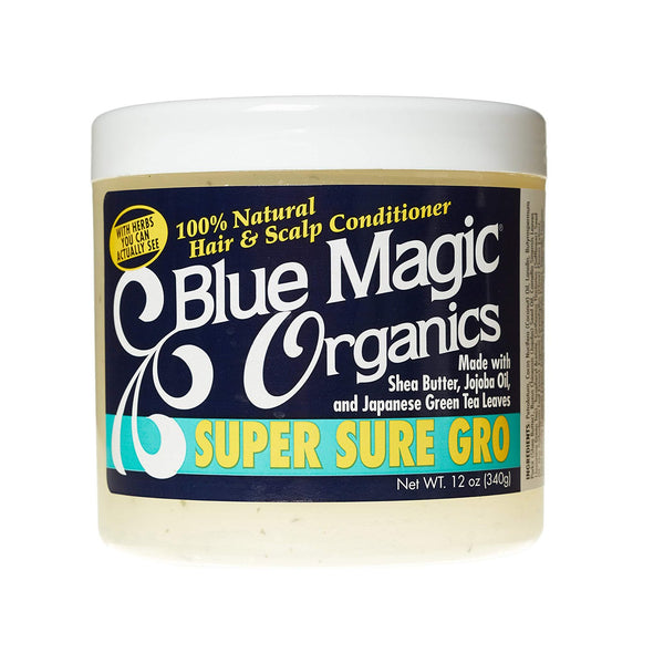 Blue Magic Organics Super Sure Gro Hair & Scalp Conditioner With Shea Butter - AQ Online