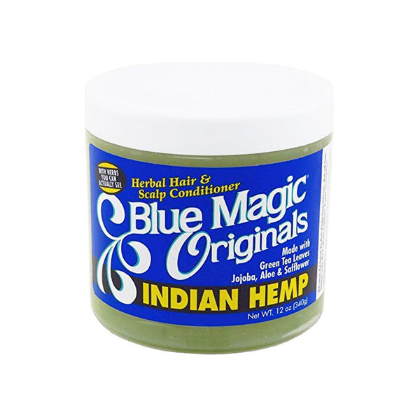 Blue Magic Originals Indian Hemp Hair & Scalp Conditioner 340 g- AQ Online