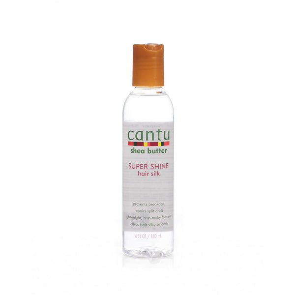 Cantu Shea Butter Super Shine Hair Silk 180ml - Afroquarter