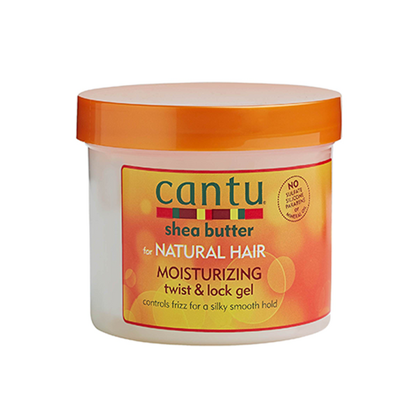 Cantu Shea Butter for Natural Hair Moisturising Twist & Lock Gel 370g - Afroquarter