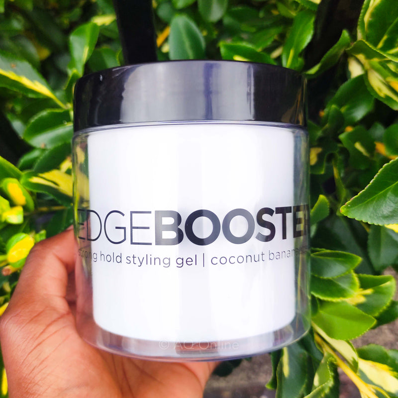 Coconut Banana Scent Style Factor Edge Booster Gel Strong Hold Styling Gel 16.9 oz- AQ Online