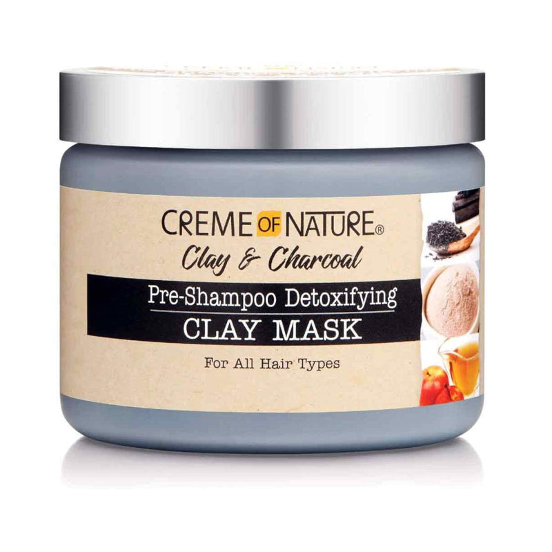 Creme Of Nature Clay And Charcoal Pre Shampoo Detoxifying Clay Mask 326 g - AQ Online