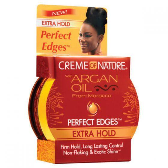 Creme of Nature Argan Oil Perfect Edges Extra Hold 63.7g - Afroquarter