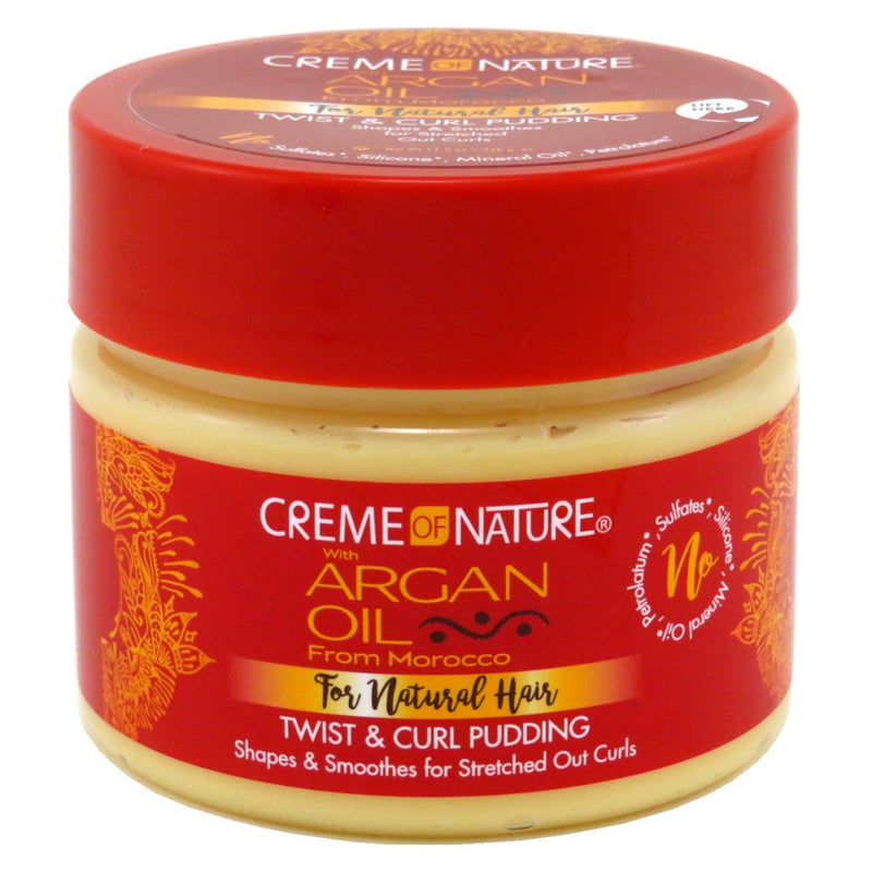 Creme of Nature Argan Oil Twist and Curl Pudding 360g - Afroquarter
