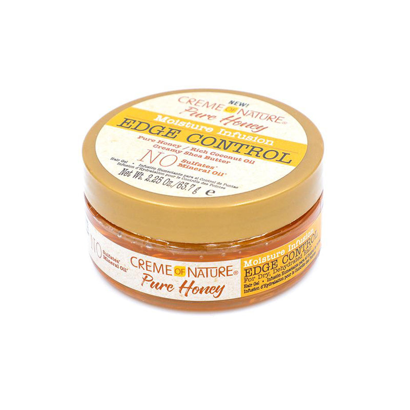 Crème of Nature Pure Honey Moisturising Moisture Edge Control - AQ Online