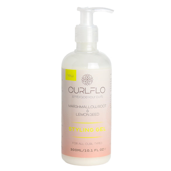 Curlfo Marshmallow Extract & Lemon Seed Styling Gel 10.1 - AQ Online