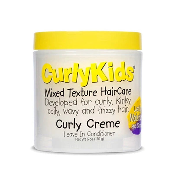 CurlyKids Curly Creme Conditioner Leave In Conditioner 6 oz- AQ Online
