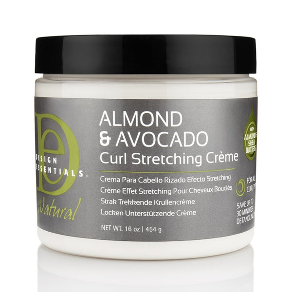 Design Essential Almond & Avocado Curl Stretching Creme 16 oz - AQ Online