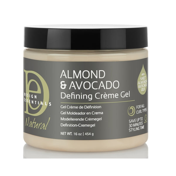 Design Essentials Almond & Avocado Curl Defining Crème Gel 16 oz
