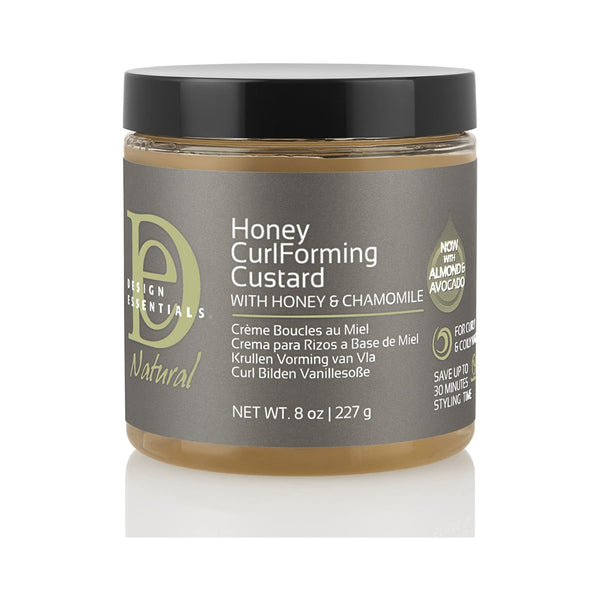 Design Essentials Honey Curl Forming Custard 8 oz - AQ Online