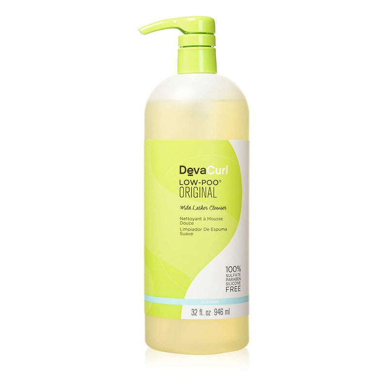 DevaCurl Low-Poo Original Mild Lather Cleanser 32 oz - AQ Online