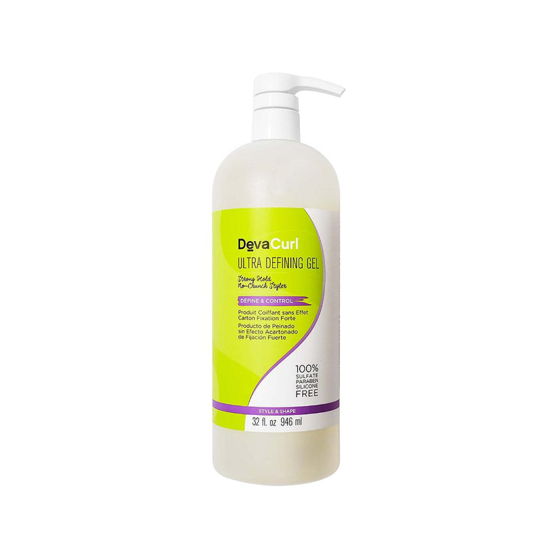 DevaCurl Ultra Defining Gel Strong Hold No-Crunch Styler 32 oz- AQ Online