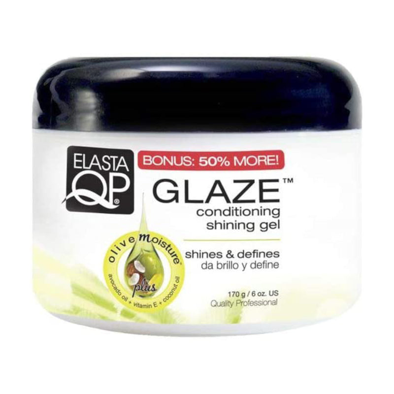 ELASTA QP Glaze Plus Conditioning Shining Gel Max Hold 6 oz