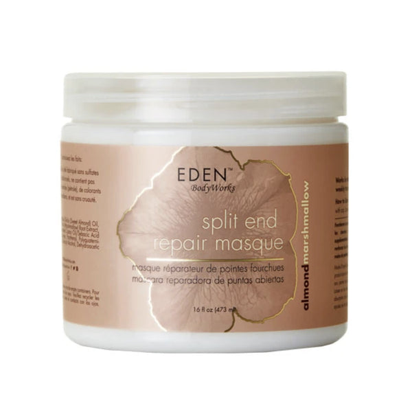 Eden BodyWorks Almond Marshmallow Split End Repair Masque - AQ Online