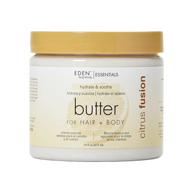 Eden BodyWorks Essentials Citrus Fusion Hair & Body Butter- AQ Online