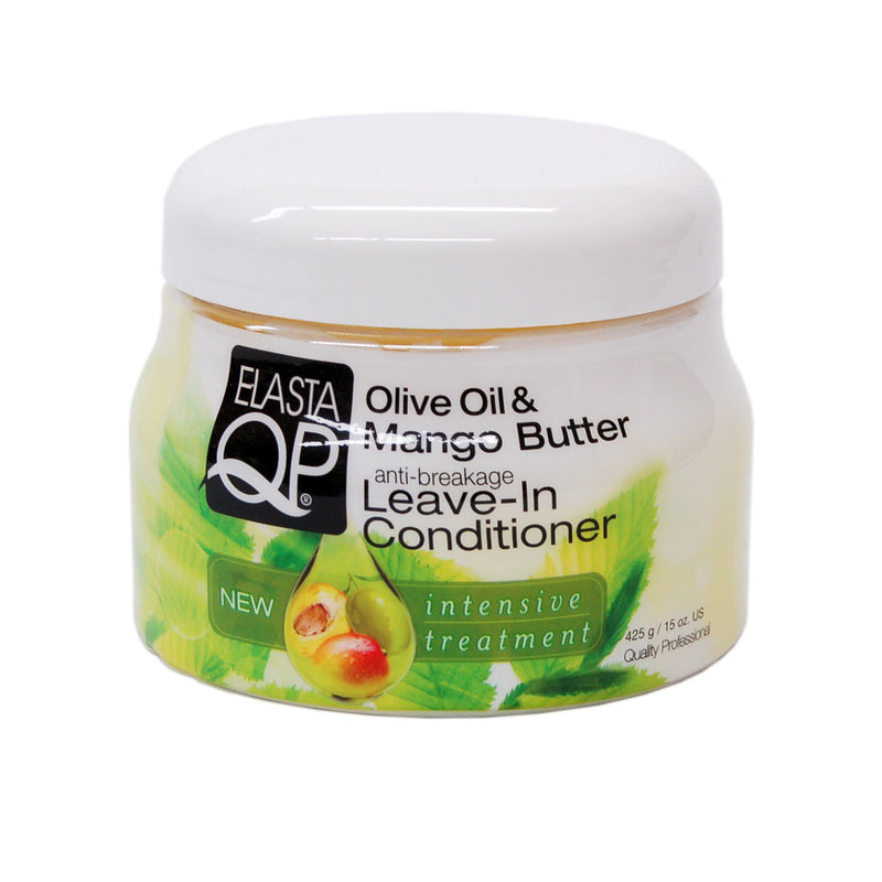 Elasta QP Olive Oil & Mango Butter Anti-Breakage Leave-In Conditioner (15 oz.)