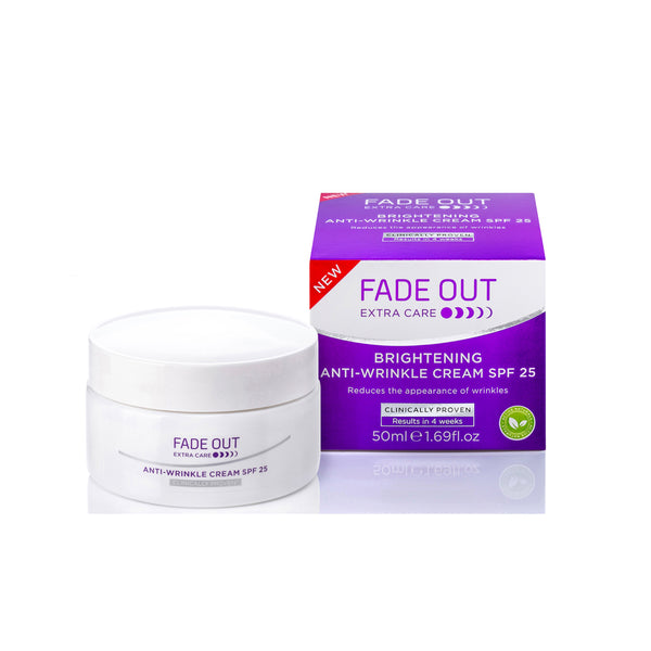 Fade Out Extra Care Brightening Anti Wrinkle Cream SPF 25 50ml- AQ Online