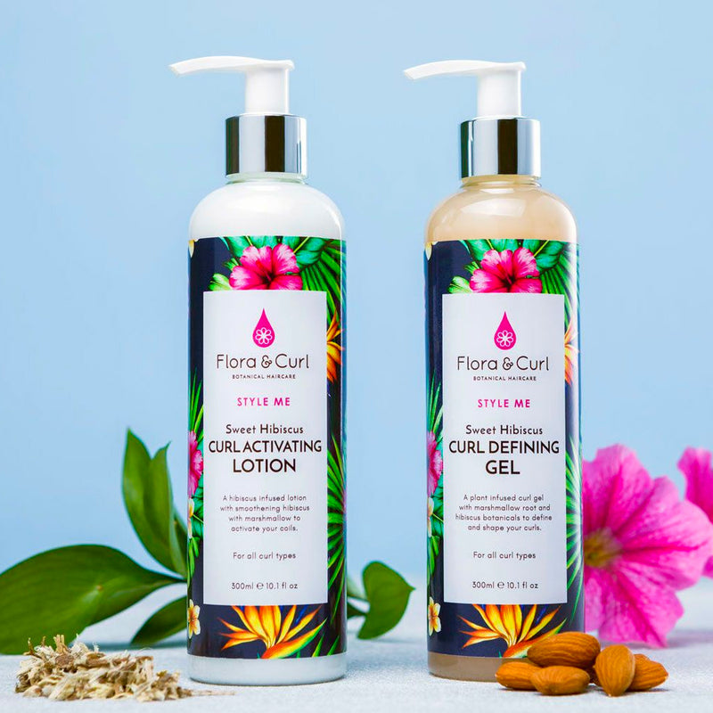 Floral & Curl Sweet Hibiscus Curl Activating Lotion 300 ml - AQ Online