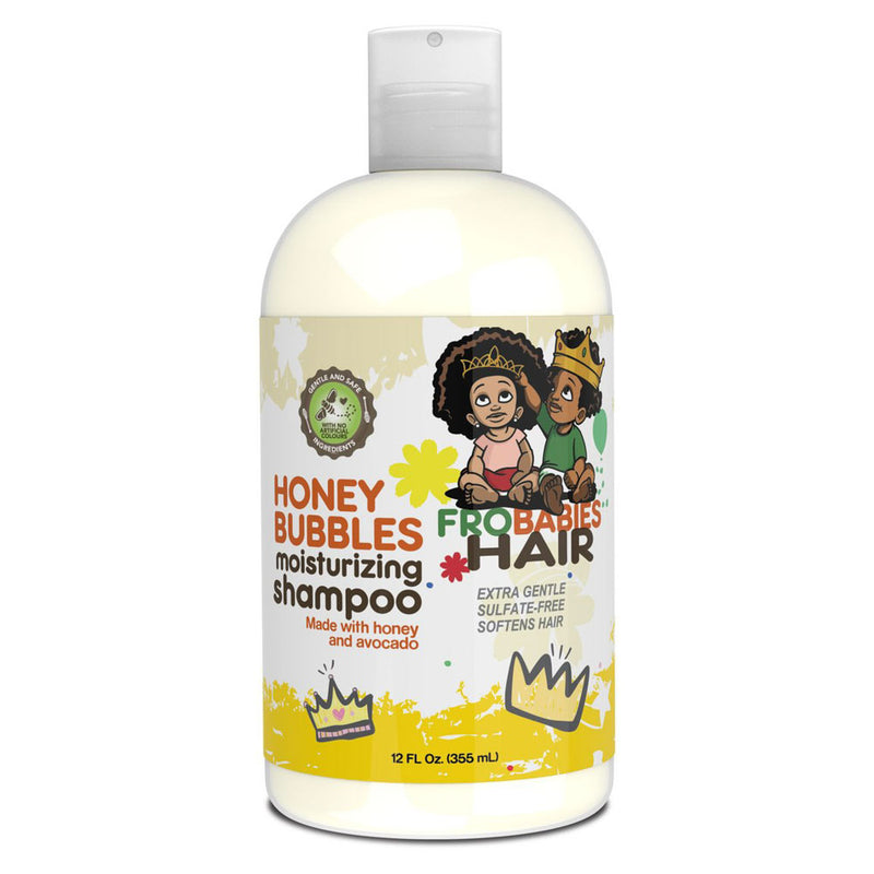 FroBabiesHair Honey Bubbles Moisturising Shampoo 12oz- AQ Online