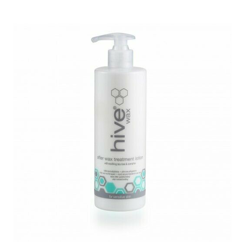Hive After Wax Treatment Lotion with Soothing Tea Tree & Camphor 400 ml