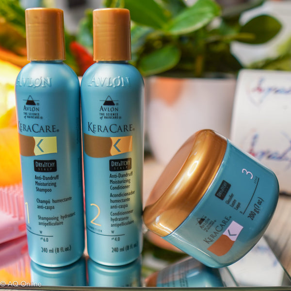 KeraCare Avlon Dry & Itchy Hair Care Bundle