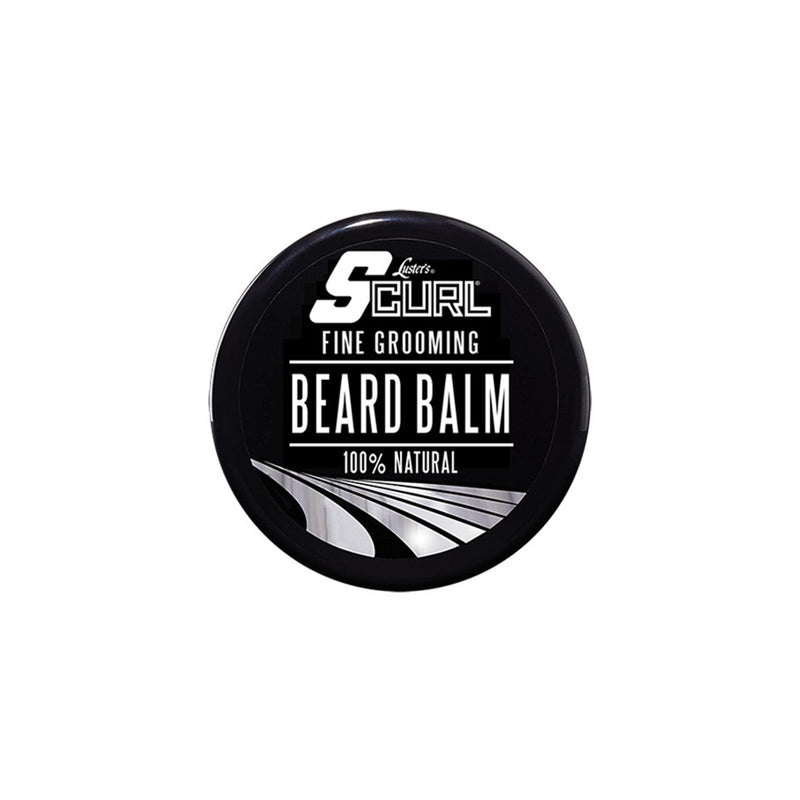 Lusters SCurl Fine Grooming 100% Natural Beard Balm - AQ Online