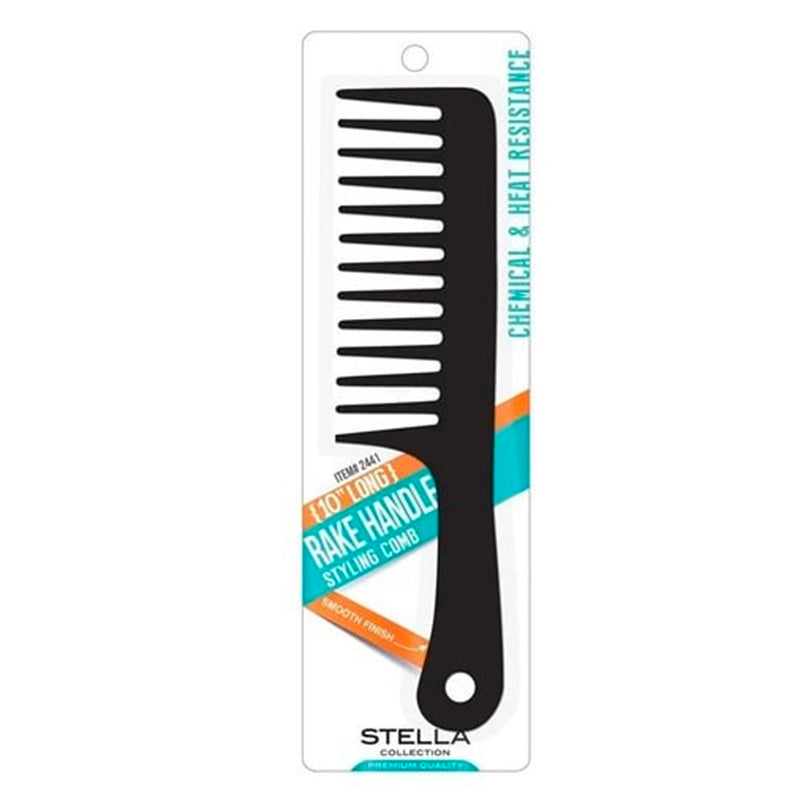 Magic Stella Collection Rake Handle Styling Comb - AQ Online