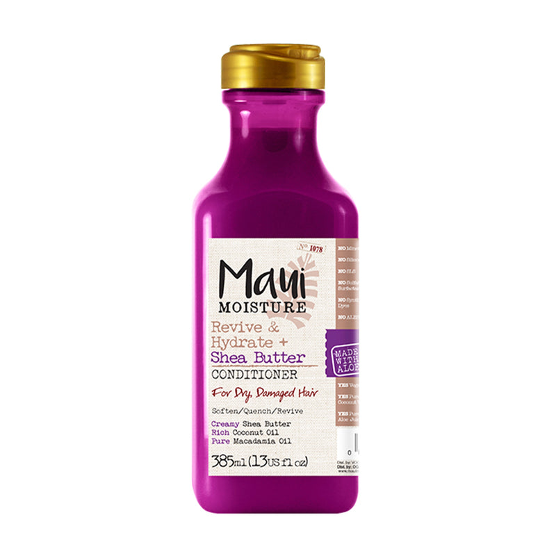 Maui Moisture Revive & Hydrate Shea Butter Conditioner 13 oz - AQ Online