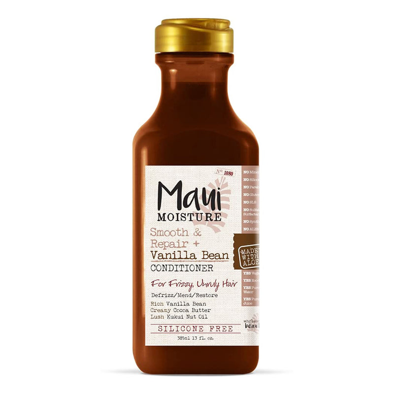 Maui Moisture Smooth & Revive vanilla Bean Conditioner 13 oz- AQ Online