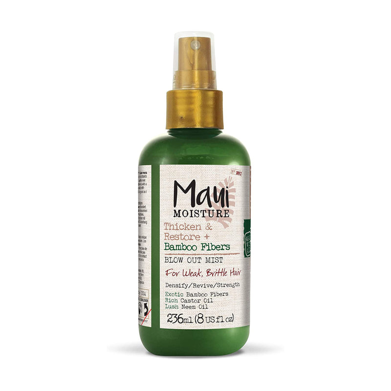 Maui Moisture Thicken & Restore + Bamboo Fibres Blow Out Mists - AQ Online
