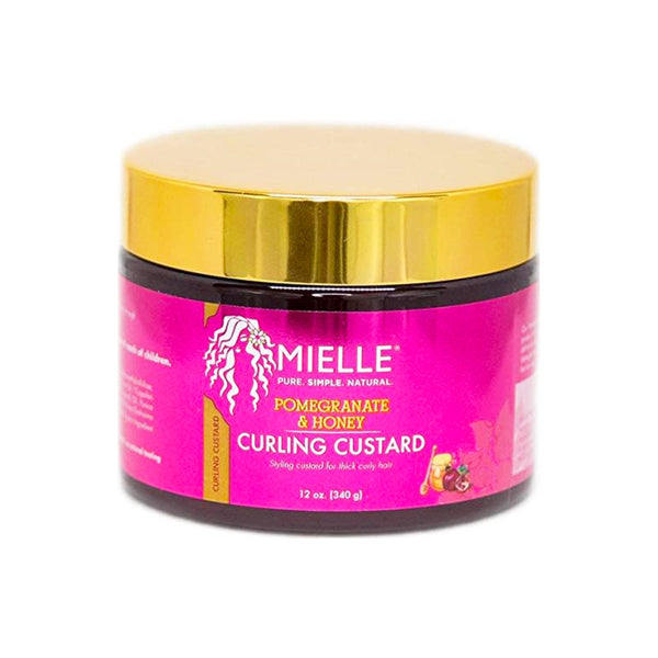 Mielle Organics Pomegranate & Honey Coil Sculpting Custard 12 oz- AQ Online