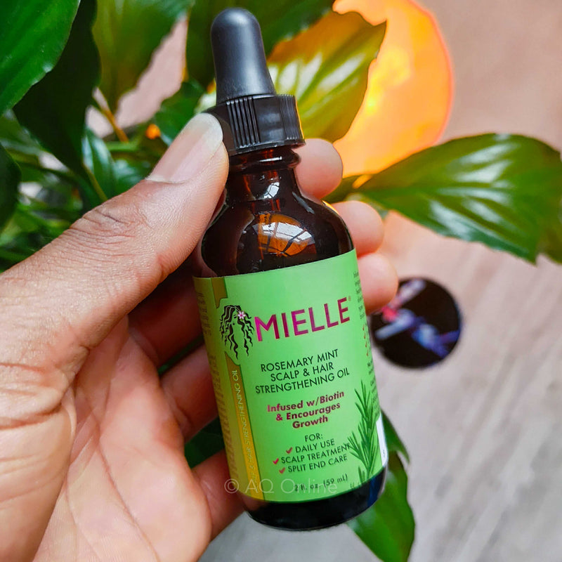 Mielle Rosemary Mint Scalp & Hair Strengthening Oil 2 oz - AQ Online
