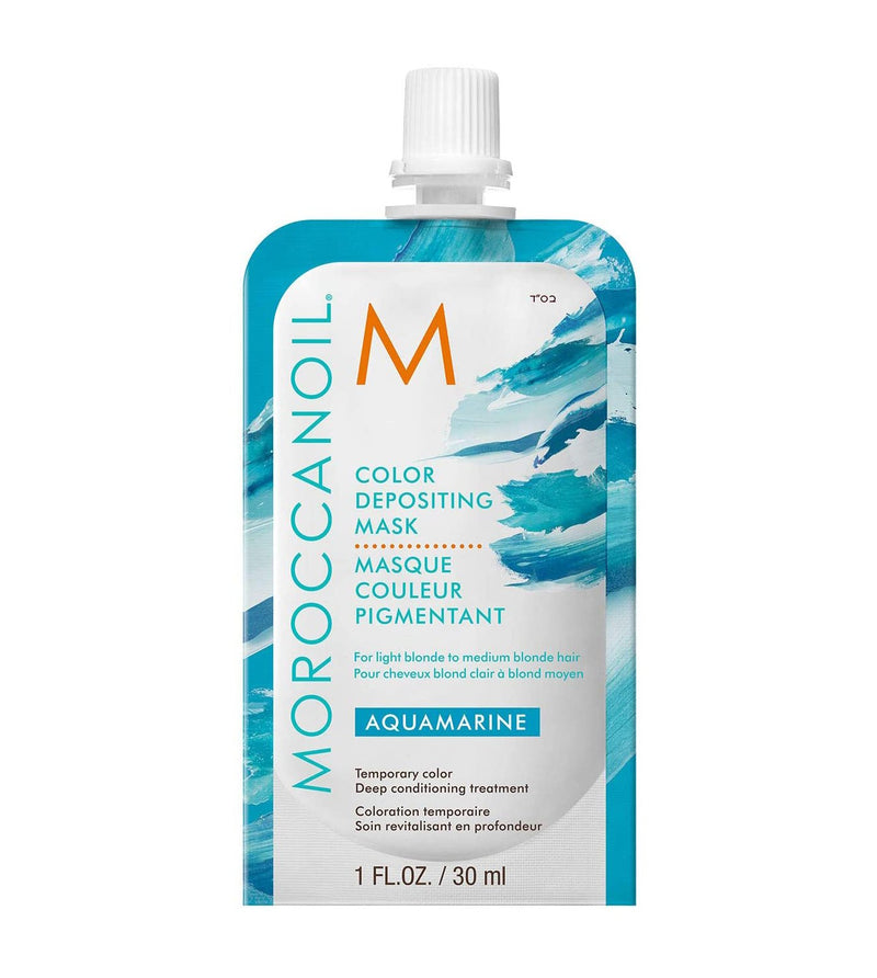Moroccanoil Aqua Marine  Color Depositing Mask 30 ml- AQ Online