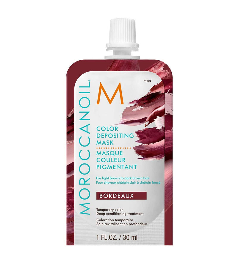 Moroccanoil Bordeaux Color Depositing Mask 30 ml- AQ Online