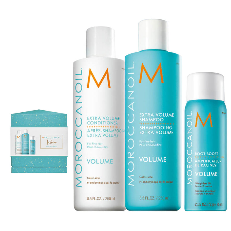 Moroccanoil Volume From All Angles Gift Set - AQ Online
