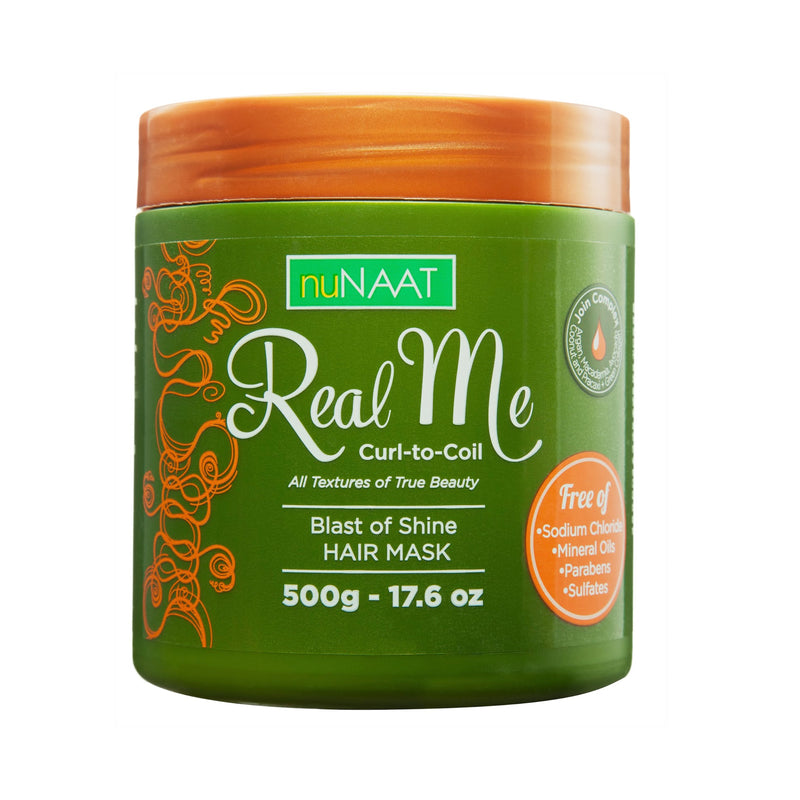 NuNaat Blast of Shine Hair Mask 500 g -AQ Online