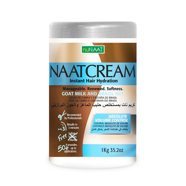 NuNaat Naatcream Goat Milk and Brazil Nut 32.02 oz - AQ Online