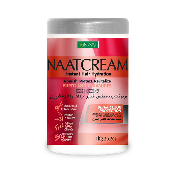 NuNaat Naatcream Instant Hair Hydration Buriti and Ceramides 35.2 oz - AQ Online
