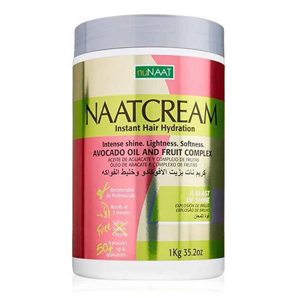 Nunaat Naat Hair Cream, Avocado Oil and Fruit Complex, 35.2 oz - AQ Online