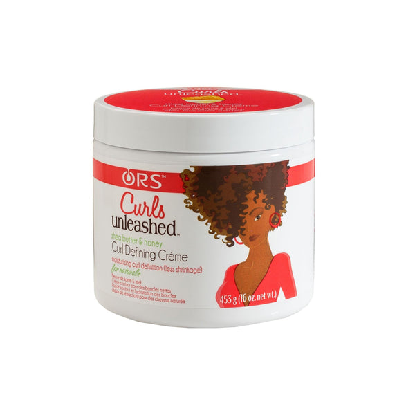 ORS Curls Unleashed Shea Butter & Honey Curl Defining Creme 453g- AQ Online