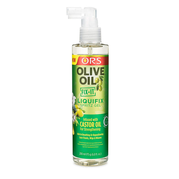 ORS Olive Oil LiquiFix Spritz Gel Fro Lace-Front and Wigs 175 g - AQ Online