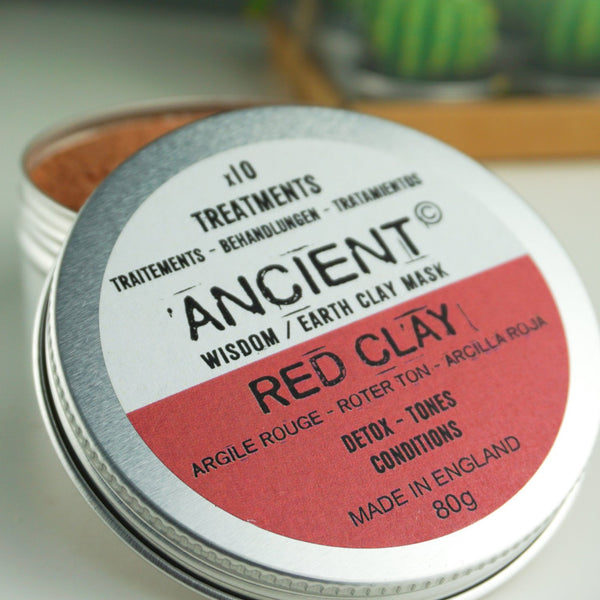 Red Clay Face Mask For Detox, Toning and Conditioning 80g