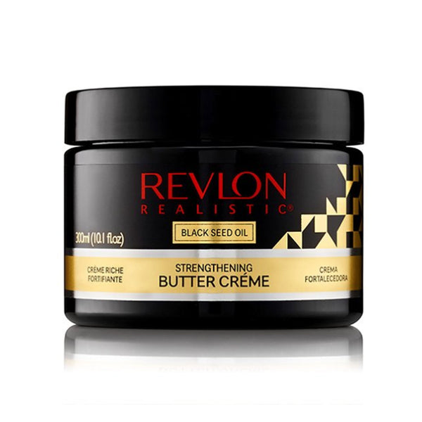 Revlon Realistic Black Seed Oil Strengthening Butter Creme Leave In Conditioner - AQ Online
