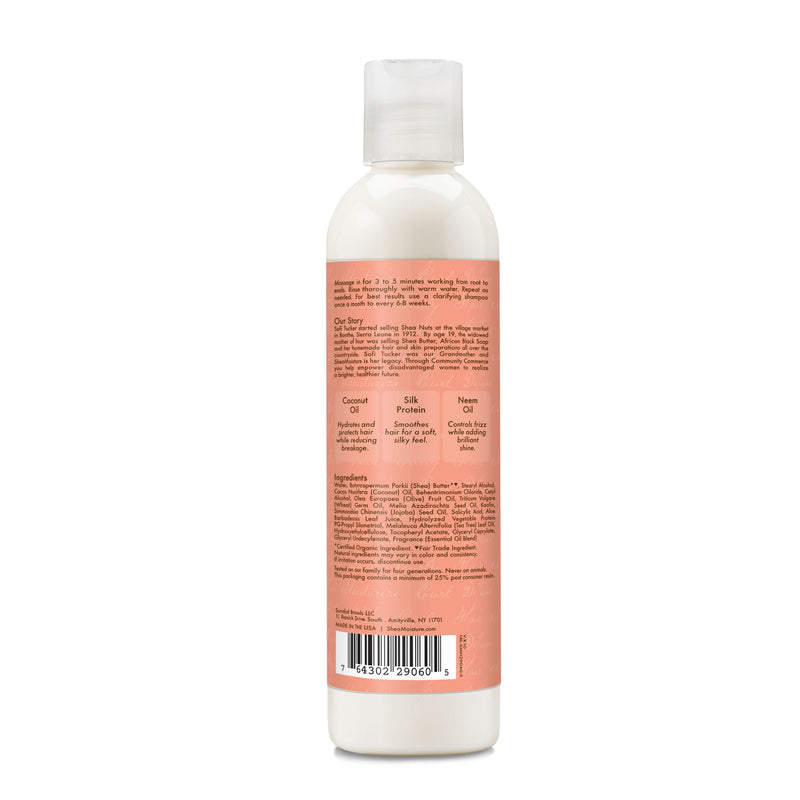 Shea Moisture Coconut and Hibiscus Co-Wash Conditioning Cleanser 12 oz