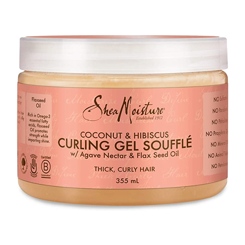 Shea Moisture Coconut and Hibiscus Curling Gel Souffle 355 ml - AQ Online