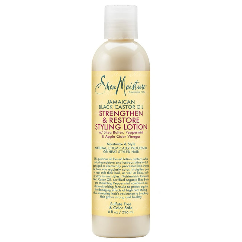 Shea Jamaican  Black Castor Oil Strengthen & Restore Styling Lotion - AQ Online