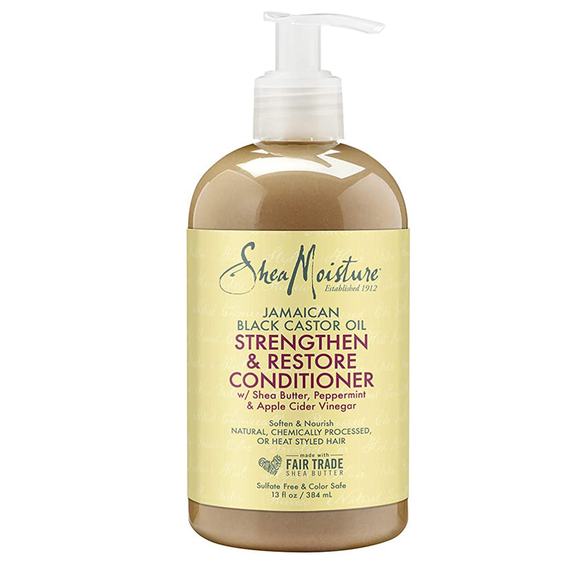 Shea Moisture JBCO Strengthen And Restore Rinse Out Conditioner 384 ml